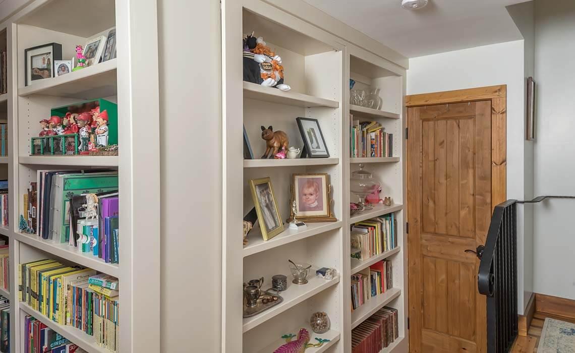 cabin-woods-bookcase-door-sineath