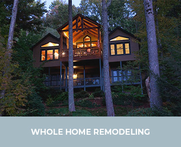 Whole Home Remodeling by Sineath Construction