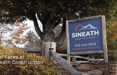 Sineath Construction street sign